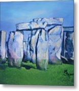 Mysterious Monoliths Metal Print