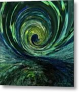 Mysterious Wave Metal Print