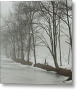 Mysterious Winter  Metal Print