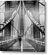 Mystery Manhattan Metal Print