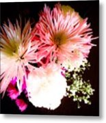 Mystery Of A Flower Metal Print