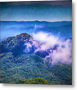Mystery Of Looking Glass Rock Metal Print