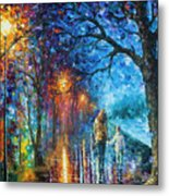 Mystery Of The Night Metal Print