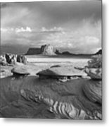 Mystery Valley Overlook Ir 0550 Metal Print