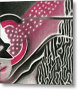 Mystery Woman Metal Print