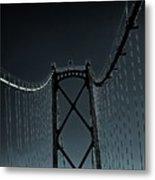 Mystic Bridge Metal Print