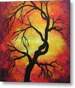 Mystic Firestorm Metal Print by Jordanka Yaretz
