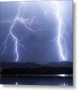 Mystic Lightning Storm Metal Print