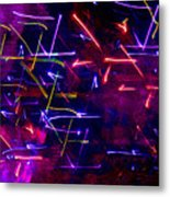 Mystic Lights 8 Metal Print