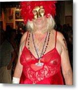 Mystic Masquerade For Linda Daughter Of Munger Metal Print