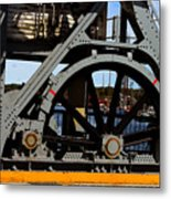 Mystic Seaport Draw Bridge Metal Print