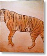 Mystic Tiger Metal Print