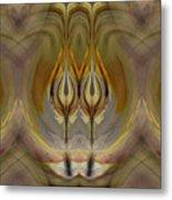 Mystical Flowers Metal Print