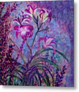 Mystical Garden Metal Print