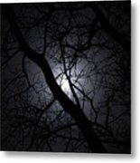 Mystical Moon Metal Print