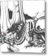 Mystical Riverbed Metal Print