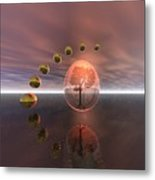 Mystical Surrealism Metal Print