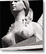 Mythical Beauty - Bw Metal Print