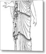 Mythology: Hera/juno Metal Print