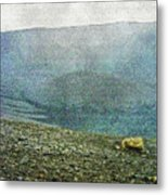 Myvatn Mooncrater Metal Print