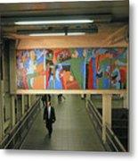 N Y C Subway Scenes # 45 Metal Print