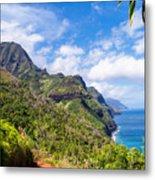 Na Pali Coast Kauai Metal Print