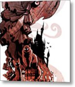 Nadja's Flight Metal Print by Brian Kesinger