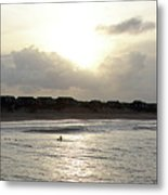 Nags Head Nc Surf Metal Print