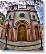 Naguanagua Church Smile Jesus Metal Print