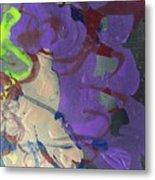 Nail Polish Abstract 15-r11 Metal Print