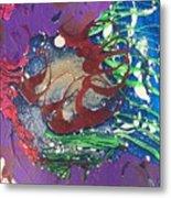 Nail Polish Abstract 15-s11 Metal Print