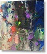 Nail Polish Abstract 15-w11 Metal Print