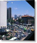 Nairobi City Metal Print
