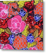 Nala's Flowers Metal Print