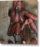 Namibia Tribe 1 Metal Print