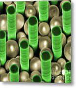 Nanoparticle Trapping, Nanotechnology Metal Print