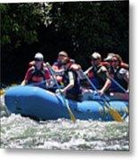 Nantahala River Rafting Metal Print