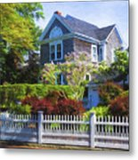 Nantucket Architecture Series 7 - Y1 Metal Print