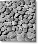 Nantucket Cobblestones Metal Print