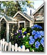 Nantucket Cottage No.1 Metal Print