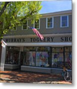Nantucket Murrays Toggery Shop - Y1 Metal Print