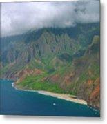 Napali Coast - Kauai Metal Print