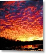 Napalm Clouds Metal Print