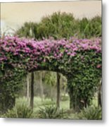 Naples Arches Metal Print