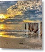 Naples Florida Sunset Metal Print