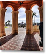 Naples Florida X Metal Print