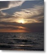Naples Sunset 0043 Metal Print