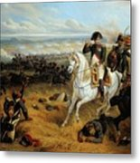 Napoleon In Wagram Metal Print