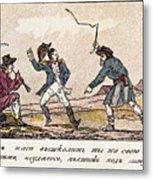 Napoleon: Russian Campaign Metal Print