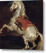 Napoleon's Stallion Tamerlan Metal Print